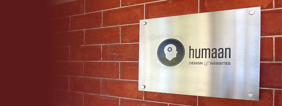 Humaan office signage