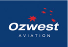 Ozwest Aviation Logo Design