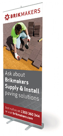 Brickmakers pull up banner