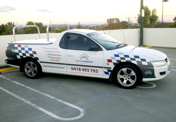 AAA Accomplished vehicle graphics